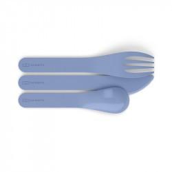 MB Pocket Color - Couverts biodégradables par Monbento - Bleu Infinity
