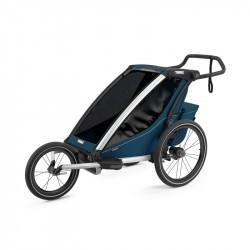 Thule Chariot Cross - Majolica Blue - une place - kit jogging