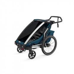 Thule Chariot Cross - Majolica Blue - une place - poussette