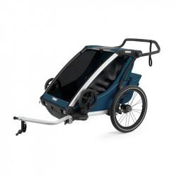 Thule Chariot Cross - Majolica Blue - deux places