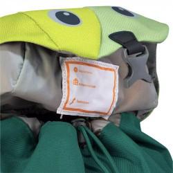 Sac à dos enfant Kikki de Deuter - Avocado-alpinegreen - etiquette