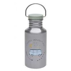 Gourde enfant inox 500ml - Lassig - Adventure Bus