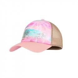 Casquette enfant buff - Trucker cap kids - Zina Pink