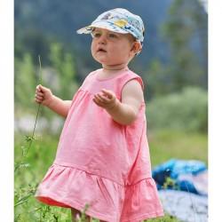 Buff Casquette anti-uv bébé - bleu