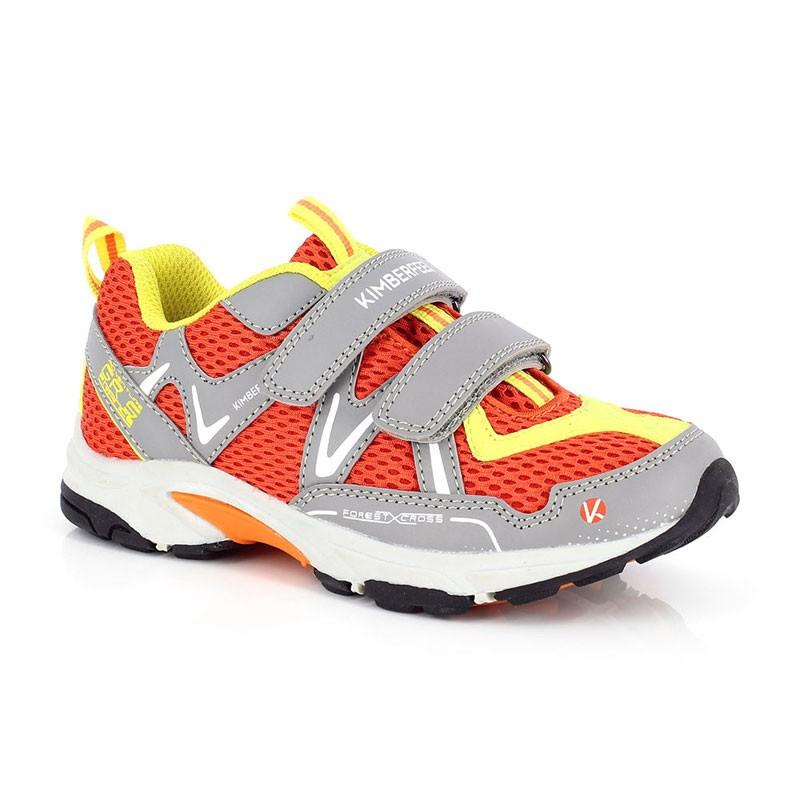 Chaussure multi-activités enfant avec velcro - Kimberfeel Pilat - Orange