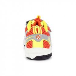 Chaussure multi-activités enfant avec velcro Pilat - Kimberfeel Orange