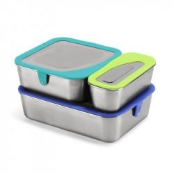 Set de 3 boites inox - Food Box set