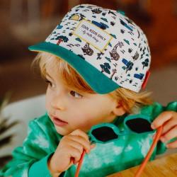 casquette enfant jungle