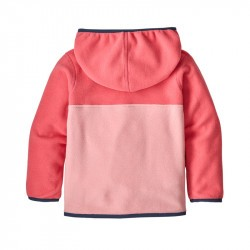 Polaire Patagonia bébé rose