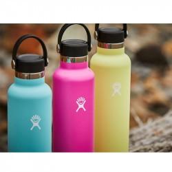 Gourde hydroflask en inox isotherme
