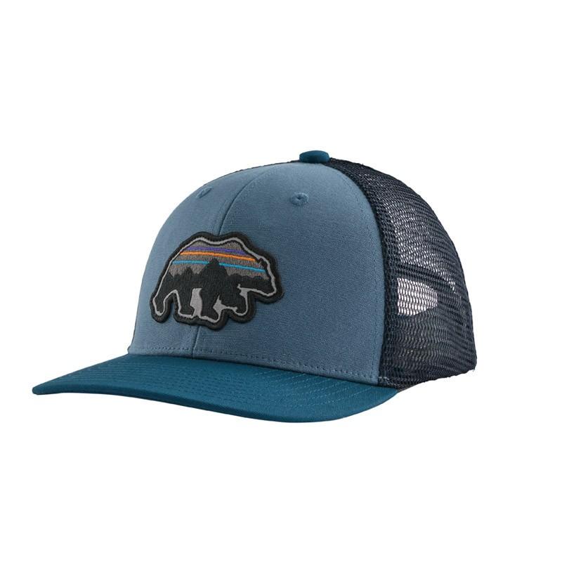 Casquette enfant Patagonia - Kids trucker hat - Pigeon Blue - 2021