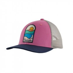 Casquette enfant Patagonia - Kids trucker hat - Marble Pink