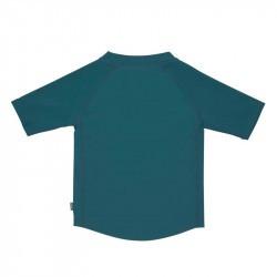 T-shirt de bain anti-uv bébé - Lassig -  bateau bleu