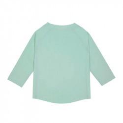 t-shirt anti-uv manches longues bébé menthe