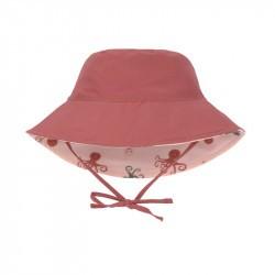 Chapeau anti-UV bébé - Lassig - octopus rose