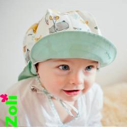 Chapeau de soleil bébé zoli