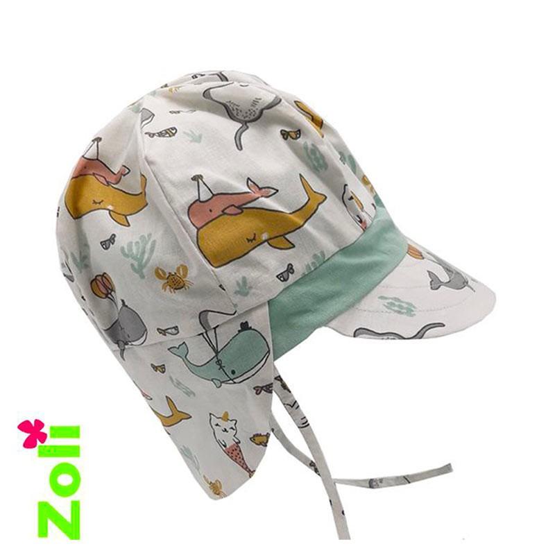 Chapeau de soleil bébé