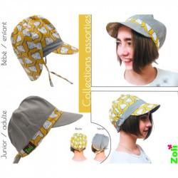 Chapeau de soleil bébé et enfant de Zoli - Manta