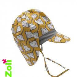 Chapeau de soleil bébé - manta