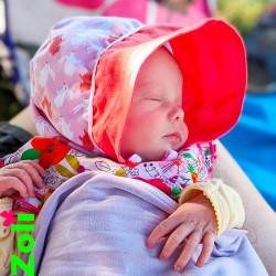 chapeau soleil bébé