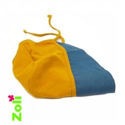 chapeau bébé soleil zoli - moutarde
