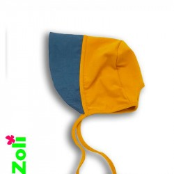 chapeau de soleil bébé zoli - moutarde