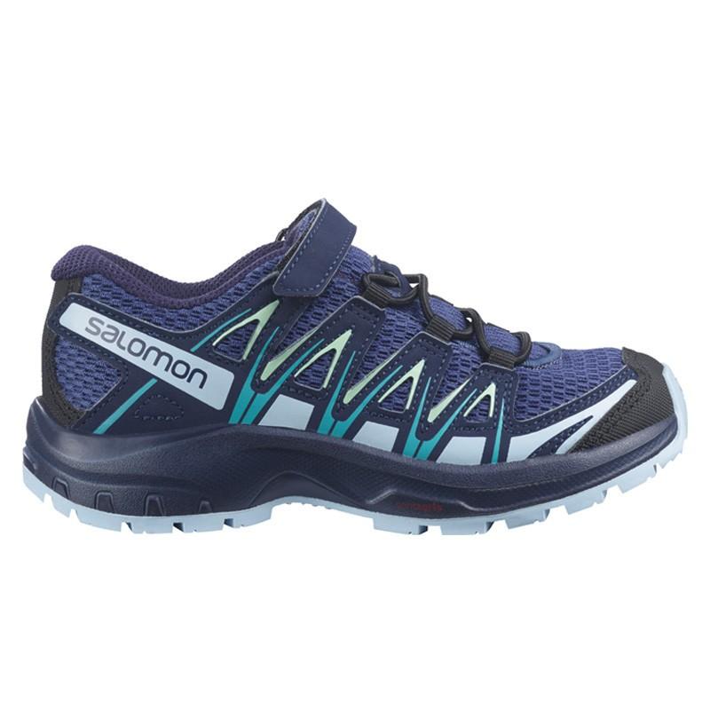 Chaussure de randonnée enfant Salomon - XA PRO 3D Junior - Blue indigo
