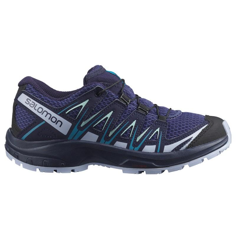 Chaussure de randonnée enfant Salomon - XA PRO 3D Junior - Du 31 au 35 - Blue indigo/Kentucky Blue/Capri Breeze