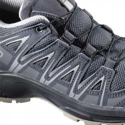 XA PRO 3D Junior CSWP - Chaussure Salomon enfant Imperméable - 31 au 35 - Alloy