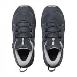 XA PRO 3D Junior CSWP - Chaussure Salomon enfant Imperméable - 31 au 35 - Ebony