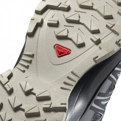 XA PRO 3D Junior CSWP - Chaussure Salomon enfant Imperméable - 31 au 35 - Ebony/ Alloy