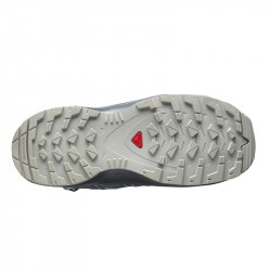 XA PRO 3D Junior CSWP - Chaussure Salomon enfant Imperméable - 31 au 35 -Alloy/Quiet Shade