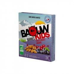 Baouw kids bio - Fruits rouges