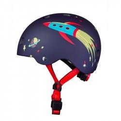 Casque bol enfant  Micro - 3-6 ans  (48 - 53 cm ) - Rocket