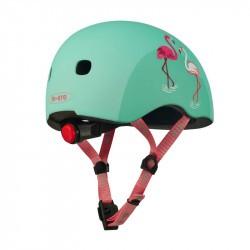 Casque bol enfant  Micro - 3-6 ans  - Flamingo