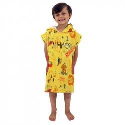 Poncho bébé -2 à 5 ans - All-in - Yellow/Brown