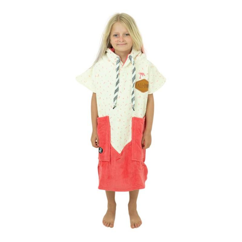 Poncho surf enfant - 6 à 9 ans - All-in - Raspery