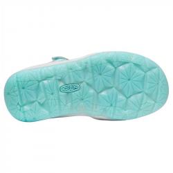 Sandales de marche fille - Keen Moxie - Blue Tint/Vapor - semelle souple