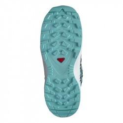 XA PRO 3D Junior CSWP - Chaussure Salomon enfant Imperméable - Pastel Turquoise - 31 au 35