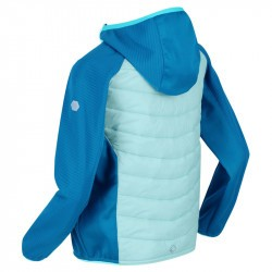 Veste enfant matelassée deperlante - Kielder Hybrid - Regatta - turquoise