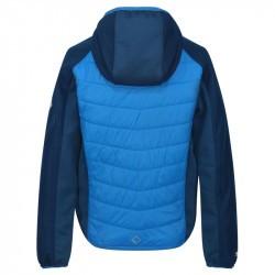 Veste matelassée deperlante garçon - Kielder Hybrid - Regatta - bleu
