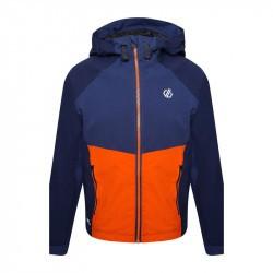 Veste enfant imperméable - Dare2B - bleu orange