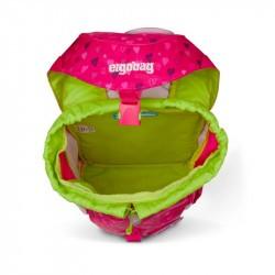 Ergobag Mini- cartable maternelle ergonomique - Soccer FanBear - ouvert