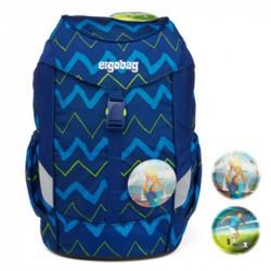 Ergobag Mini- cartable maternelle ergonomique - Soccer FanBear - patch