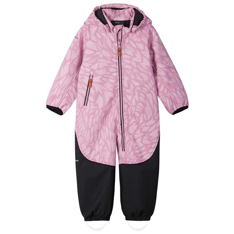 Combinaison softshell bébé Mjosa - Reima - Rosy Pink  - 2022