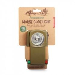 Lampe de poche rétro pour code morse