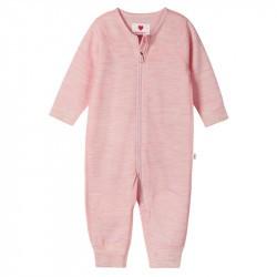 Combinaison en merinos pour bébé Lauha - Reima - Blush Pink - 2022
