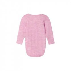Body en laine merinos - Manches longues - Utu - Reima - Rosy Pink