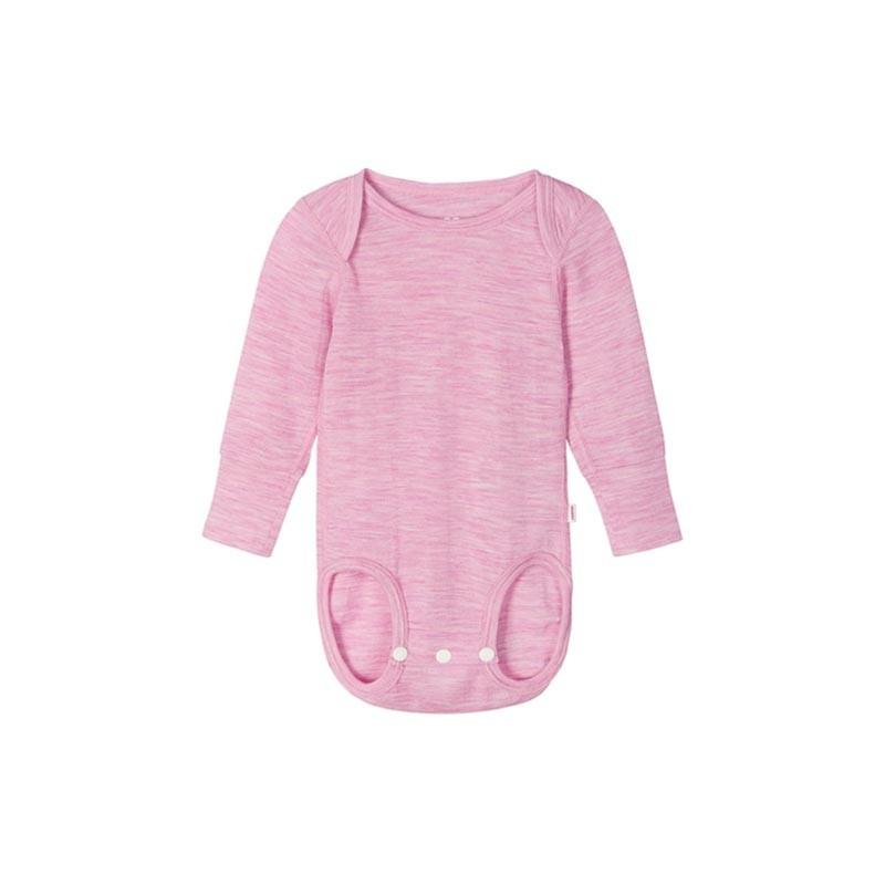 Body en laine merinos - Manches longues - Utu - Reima - Rosy Pink - 2022