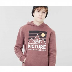 Sweat à capuche - Fasty Hoodie - Picture Organic Clothing - Ketchup Melange